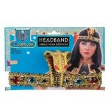 Egyptian Headband with Snake