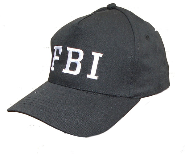 Black FBI Cap