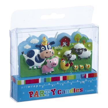Farm Animal Candles