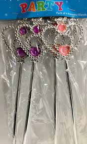 Princess Wands 4 Pack