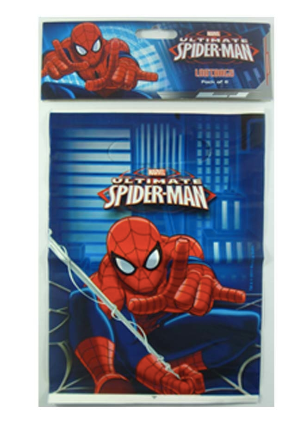 Spiderman Loot Bags