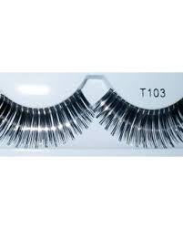 Eyelashes Silver/Black