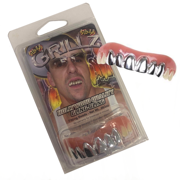 Billy Bob Teeth - Platinum Teeth Grillz