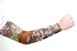 Clown Tattoo Sleeve