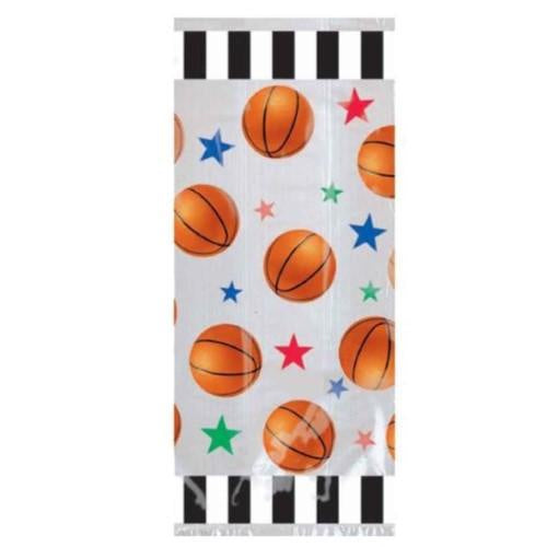 Basketball Party Cello Loot Bags