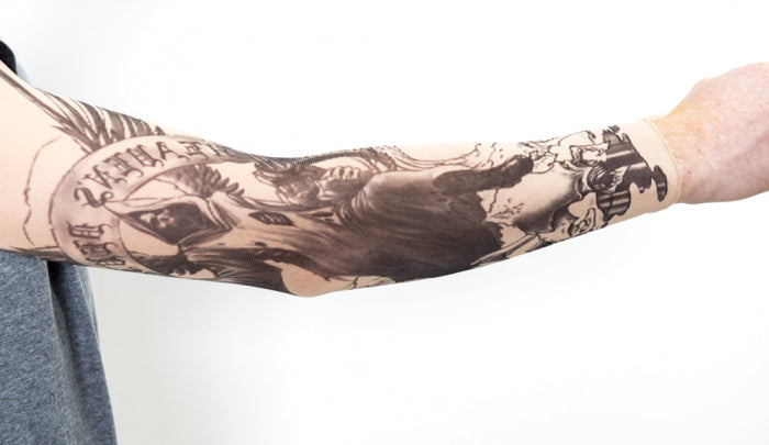Hell From Above Tattoo Sleeve
