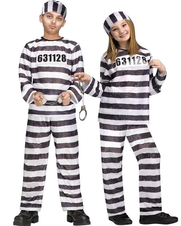 Convict Kids Costume
