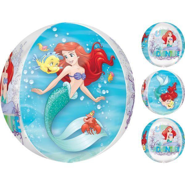 Ariel - The Little Mermaid Orb Balloon