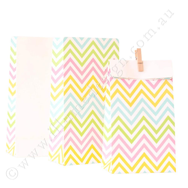 Illume Chevron Pastel Treat Bags