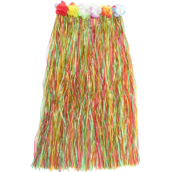 Coloured Artificial Grass Hula Skirt