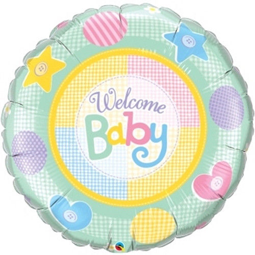 Welcome Baby Balloon