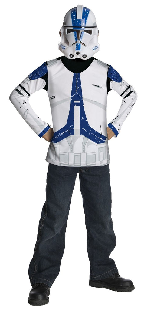 Child's Clone Trooper Top with Mask