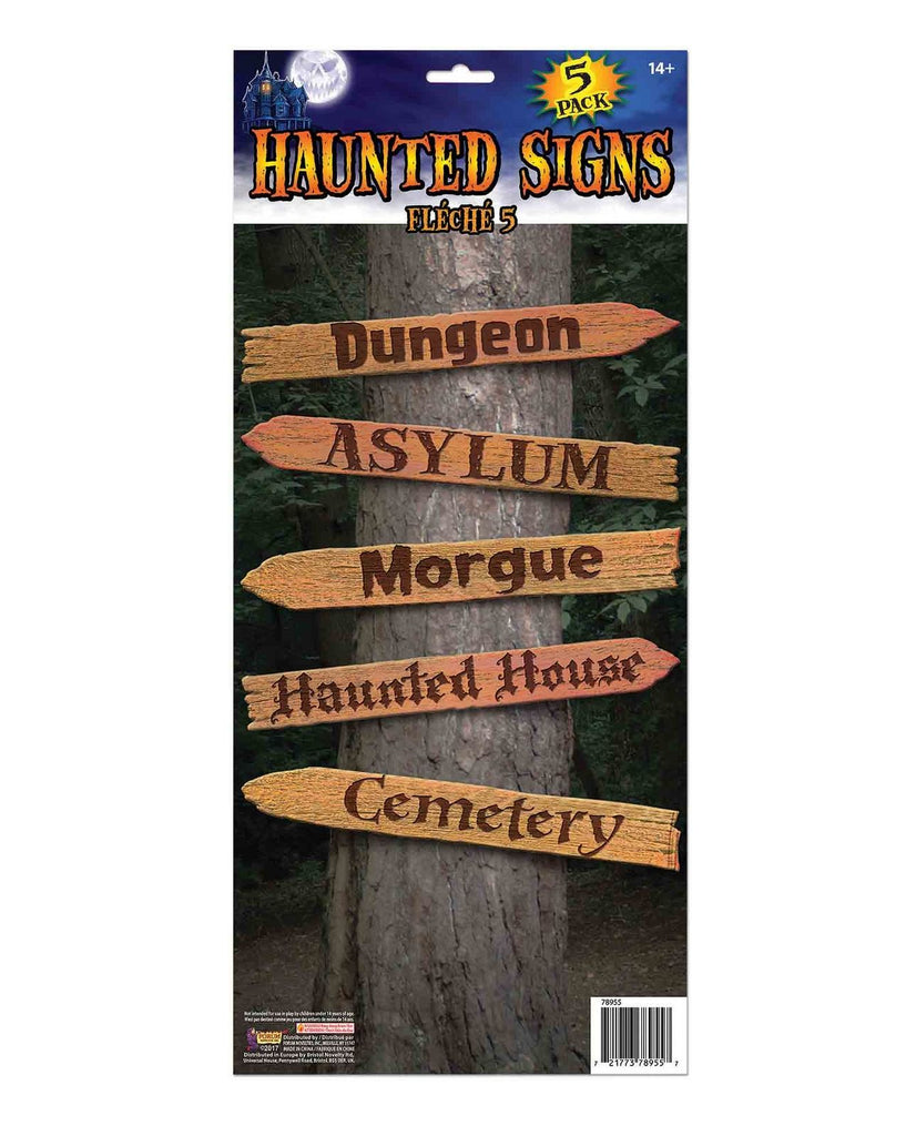Haunted Signs