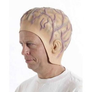 Brain Rubber Head Piece