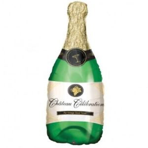 Champagne Bottle Supershape Balloon