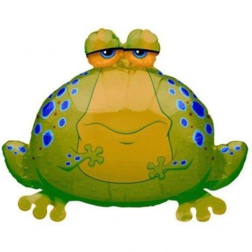 Big Bullfrog Supershape Balloon