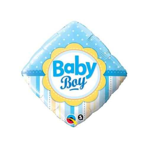 Baby Boy Dots & Stripes Balloon