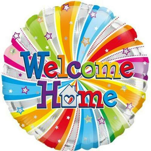 Welcome Home Swirl Balloon
