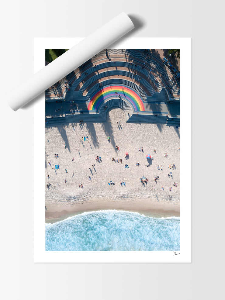 Coogee Beach - Rainbow 01