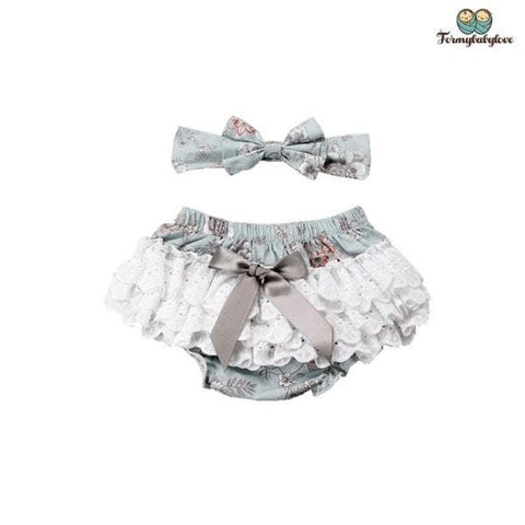 Ensemble bloomer bébé fille