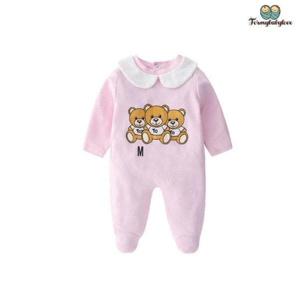 Pyjama bébé fille ourson rose