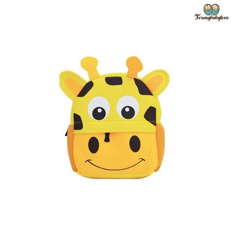 Cartable enfant girafe