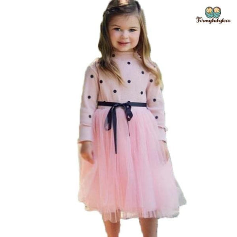 Robe pour fille rose