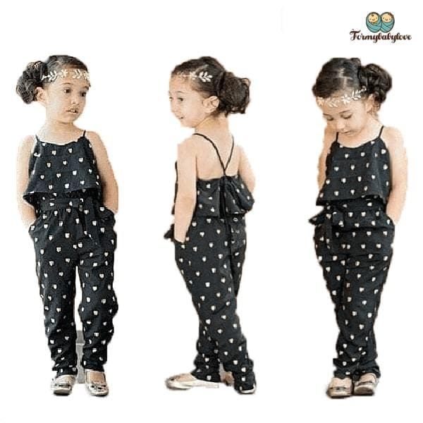 Vêtement fille combinaison Pantalon Tiffany (Du 2 ans au 7 ans)