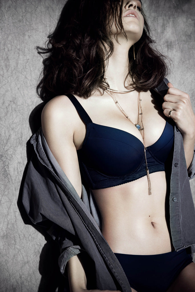 Casual Bra - Dark Blue - BRAOLOGIE