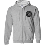 Untamed Gorilla Zip Up Hooded Sweatshirt