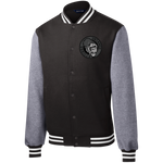 Untamed Gorilla Fleece Letterman Jacket