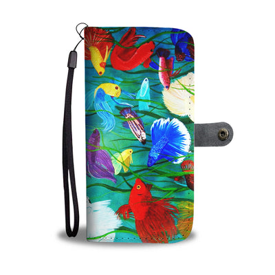 Beta Fish Wallet Phone Case