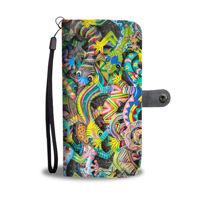 Gecko Wallet Phone Case V1