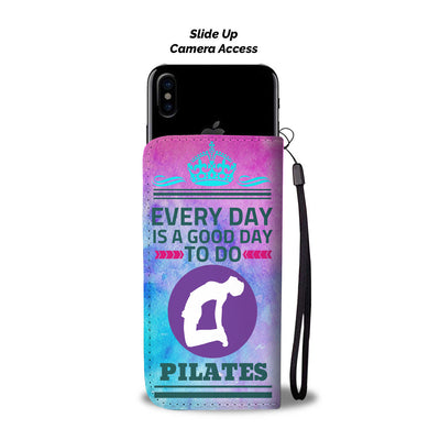 I love Pilates - Wallet Phone Case