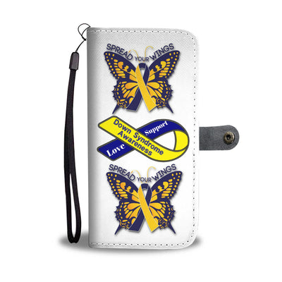Down Syndrome Awareness - Wallet Phone Case