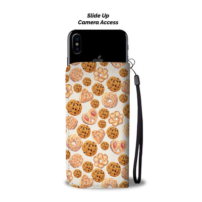 Love cookies - Wallet Phone Case