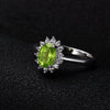August Queen Princess Diana inspired - Peridot Stone 925