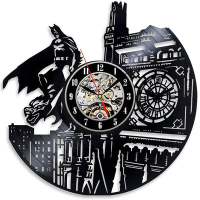 Batman CD Record Wall Clock