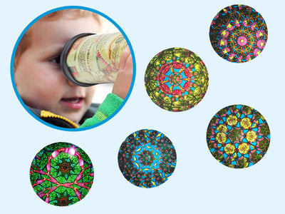 Autism Awareness - Rotating Kaleidoscope