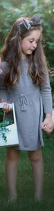 Feltman brothers heather grey knit dress