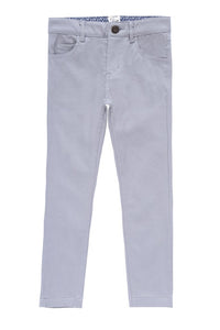Petit Clair light grey pants ss19