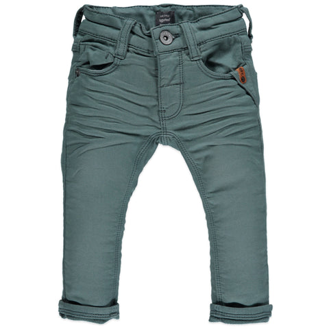 Baby face green boys pants