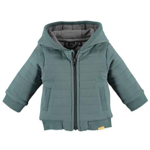 Baby Face hooded zip-up jacket