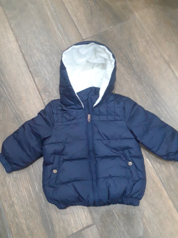 Carrement Beau navy coat