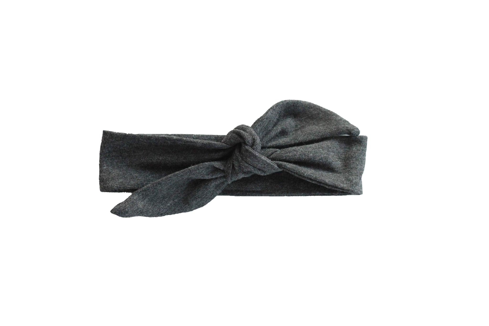 Graphite knotted headband