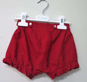 LARANJINHA GIRLS RED SHORTS