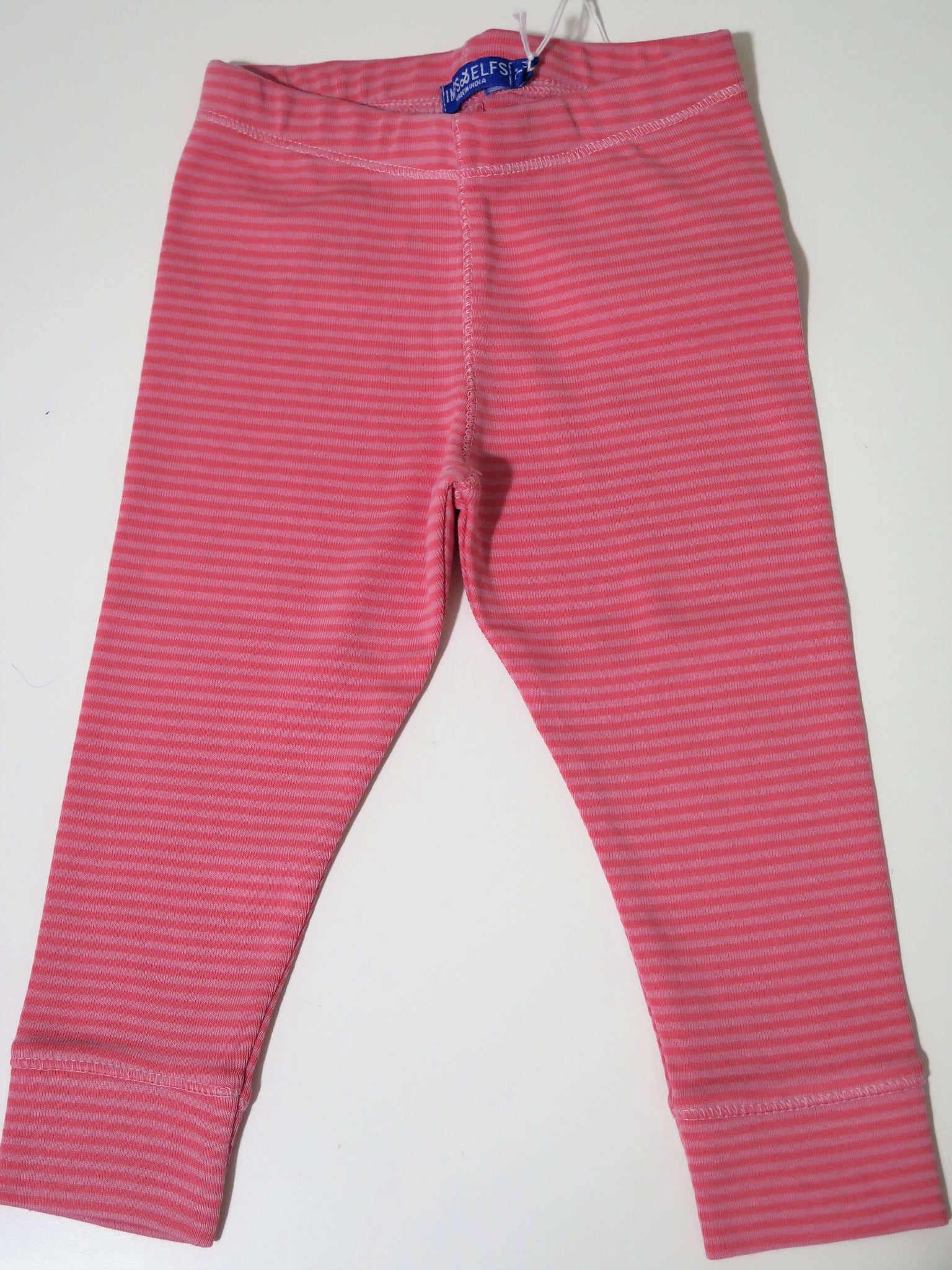 IMPS & ELFS PINK STRIPE LEGGINGS