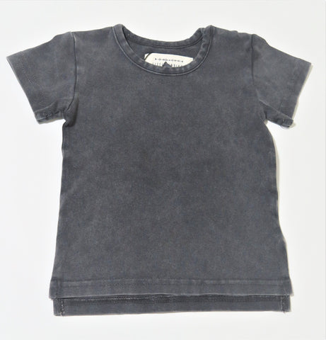 LITTLE INDIANS VINTAGE BLACK T-SHIRT & GREY SPOTTED PANTS