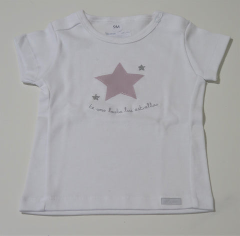 ELFI E FATE PINK STAR T-SHIRT