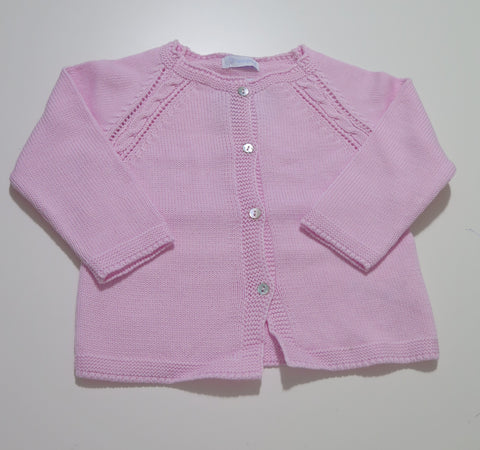 LARANJINHA PINK KNIT SWEATER